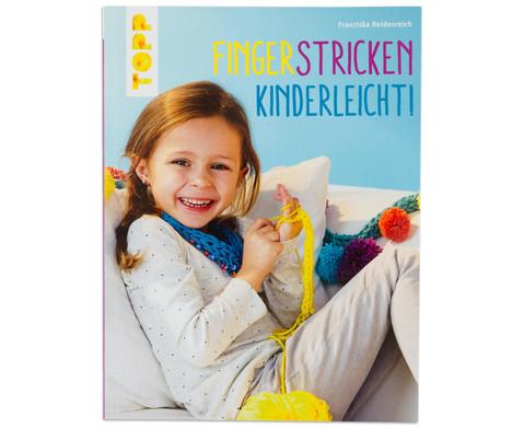 Buch Fingerstricken kinderleicht