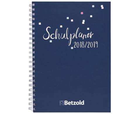 Betzold Design-Schulplaner 2018-2019 Ringbuch
