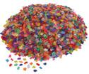 1 kg transparente Mosaiksteine Kunststoff-4