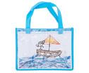Blaue Tasche A4 Querformat-5