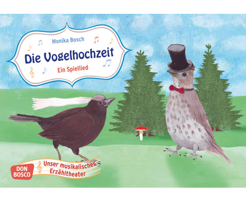 Bildkarten Die Vogelhochzeit