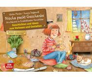 Bildkarten: Nischa packt Geschenke