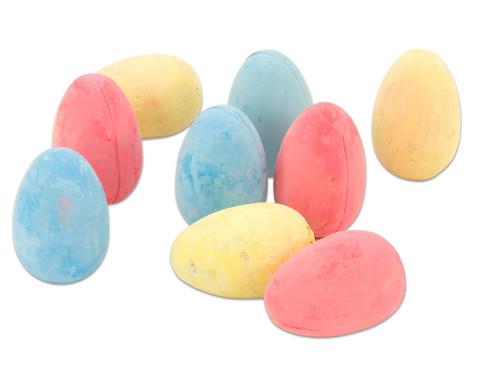 Kreide-Eier 9 Stueck