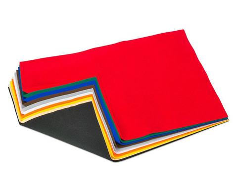 10 Bogen Bastelfilz in 10 Farben