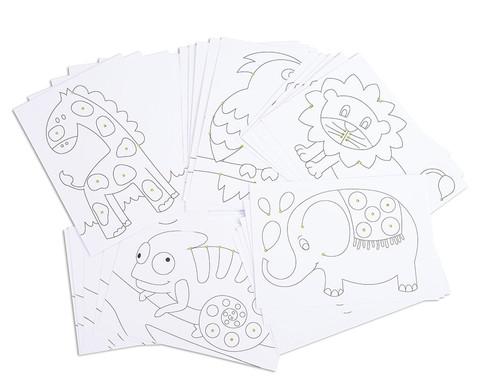 Chenilledraht-Karten 25 Stueck