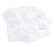 Chenilledraht-Karten, 25 Stück