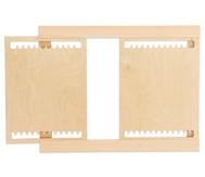 Holzwebrahmen für die Wand