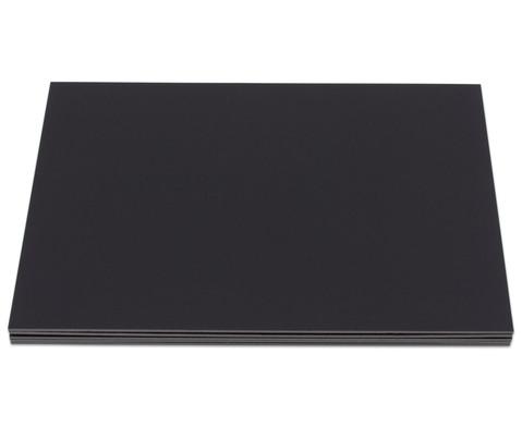 Schwarze Foamboards 50 x 70 cm