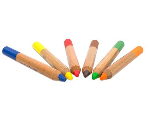Buntstifte 6er Set inkl Spitzer-2