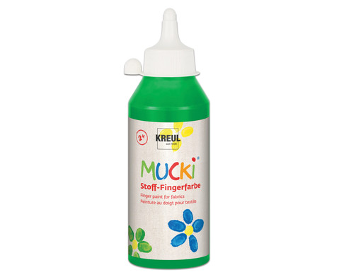 MUCKI Stoff- Fingerfarben 250ml-12