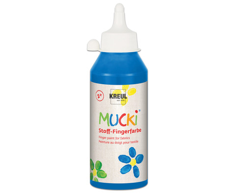 MUCKI Stoff- Fingerfarben 250ml-16