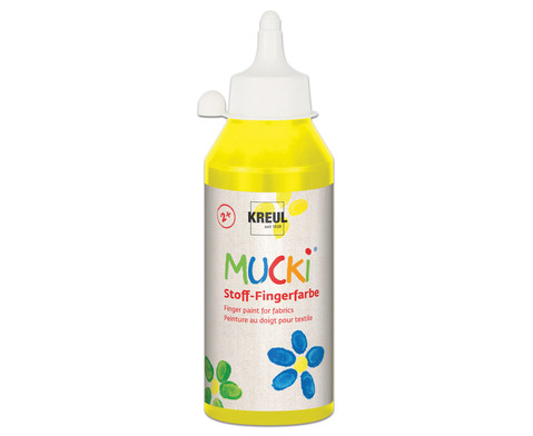 MUCKI Stoff- Fingerfarben 250ml-17