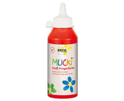 MUCKI Stoff- Fingerfarben 250ml-14