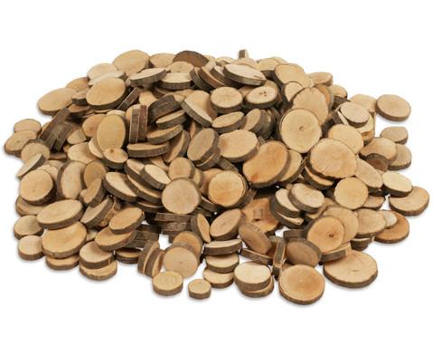 Mini-Naturholzscheiben