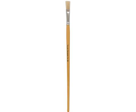 Borstenpinsel mit langem Stiel 10 Stueck-10