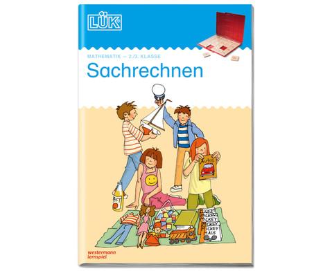 LUEK Sachrechnen Textaufgaben fuer 2 - 3 Klasse