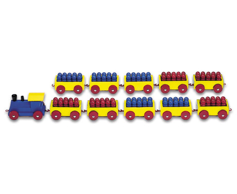 100er Ri-Ra-Rechenzug rot-blau