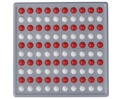 Abaco 100 rot-weiss Reihen