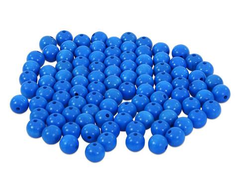 Holzperlen rot blau oder weiss-6