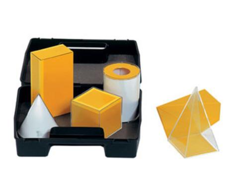 Geometrische Koerper aus Plexiglas-2