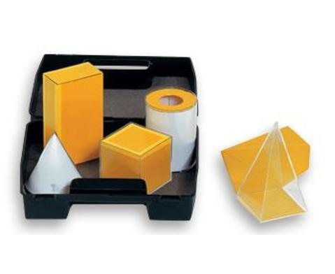 Geometrische Koerper aus Plexiglas-1
