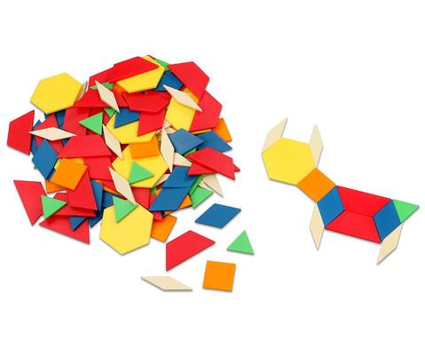 Pattern-Blocks aus Kunststoff oder Holz-2