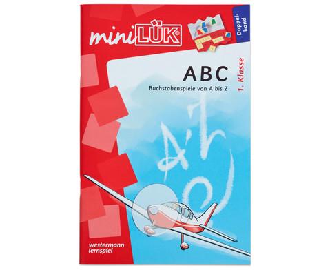 miniLUEK Buchstabenspiele von A-Z ab 1 Klasse