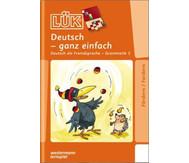 LÜK: Deutsch-ganz einfach für 1.- 8. Klasse