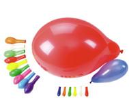 100 Luftballons in versch. Farben