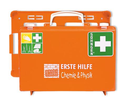 Erste-Hilfe-Koffer SN - Bereich Chemie  Physik
