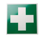 Rettungszeichen: Erste-Hilfe-Kreuz