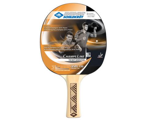 Tischtennis-Schlaeger Young Champs 150