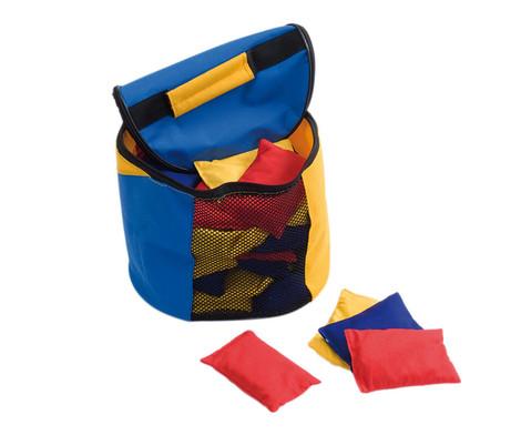 Tasche gefuellt mit 30 Bohnensaeckchen
