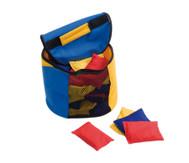 Tasche gefüllt mit 30 Bohnensäckchen