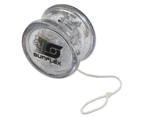 Yo-Yo mit Lichteffekt und Freilauf-1