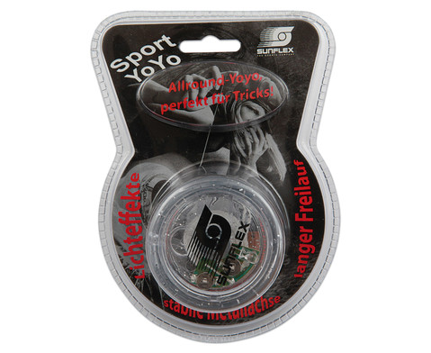Yo-Yo mit Lichteffekt und Freilauf-2