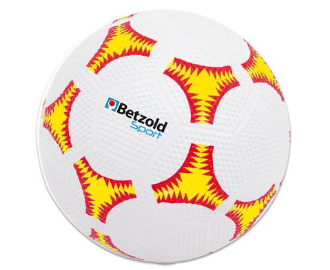 Schulhof-Fussball gelb-2