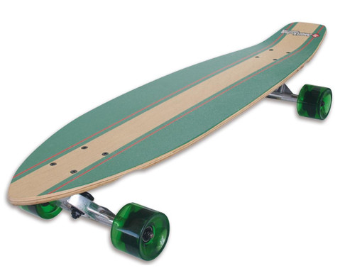 Longboard Kicktail 36 Infinity Green-1