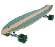 """Longboard Kicktail 36"""", Infinity Green"""