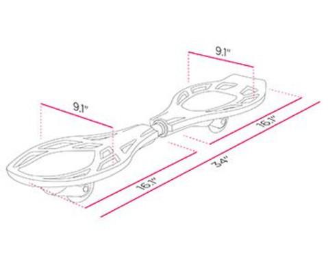 Waveboard LX Snake Pit-2