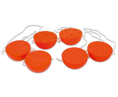 Set mit 3 Paar Halbkugelstelzen-1