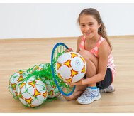 Ballnetz mit Sammelring
