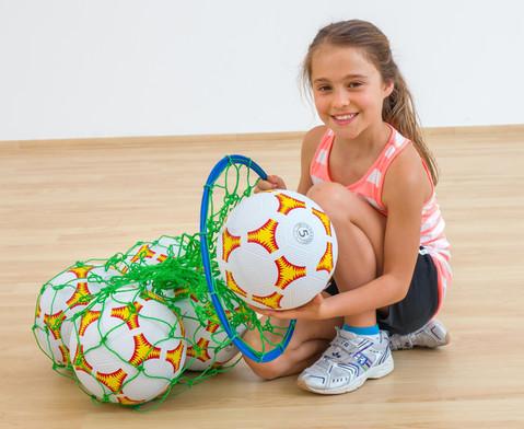 Betzold Sport Ballnetz mit Sammelring