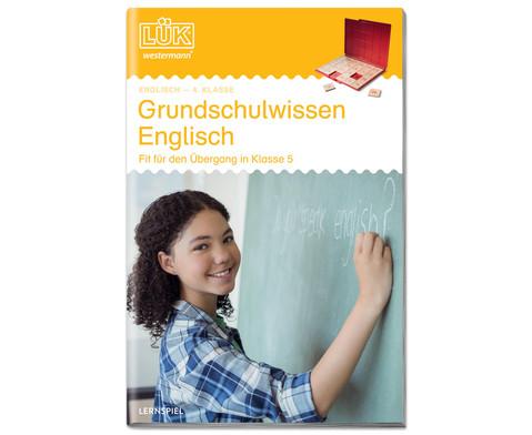LUEK Volksschulwissen Englisch ab 4 Klasse