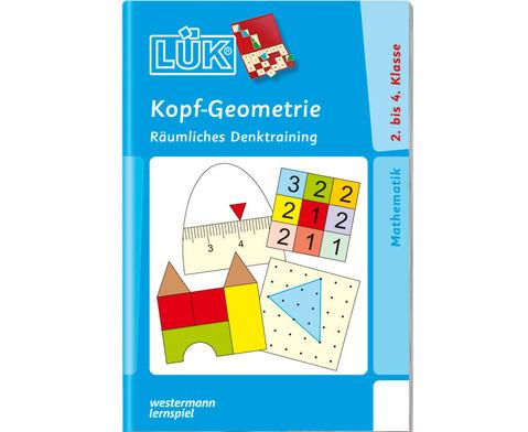 LUEK Kopf-Geometrie fuer 2 - 4 Klasse