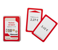 Rechnen mit Geld 2 - Kartensatz für den Magischen Zylinder