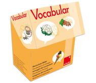 Vocabular Wortschatzbilder: Obst, Gemüse, Lebensmittel