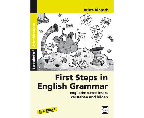 First Steps in English Grammar Klasse 3 und 4