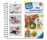 """Magnetspielbuch """"Wer macht was?"""""""