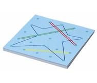 Geometriebrett + Arbeitskarten